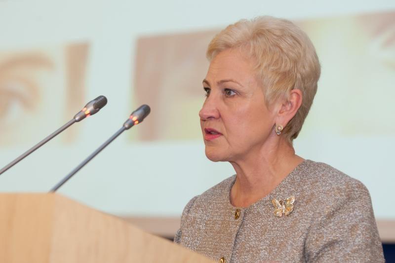 Vyriausybės darbą Seimo pirmininkė vertina 7,5 balo