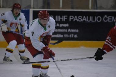 Lietuviai laimėjo planetos jaunimo ledo ritulio pirmenybes Estijoje