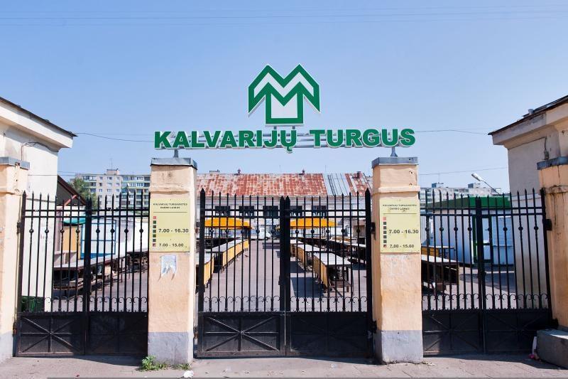 Vilniaus Kalvarijų turgavietėje bus griaunama 15 statinių