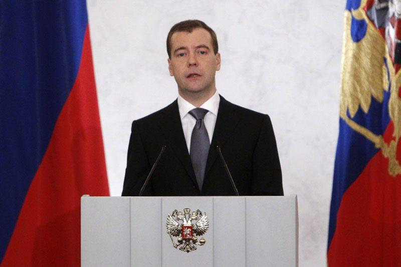 Dmitrijus Medvedevas tapo Rusijos premjeru