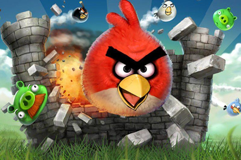 """Kuriamas """"Angry Birds"""" animacinis filmukas"""