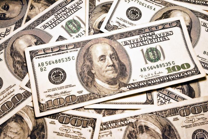Euras silpsta JAV dolerio atžvilgiu