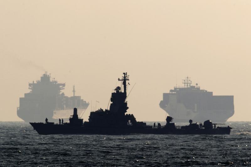 Lietuvos karinis laivynas tobulino savo įgūdžius karinėse pratybose