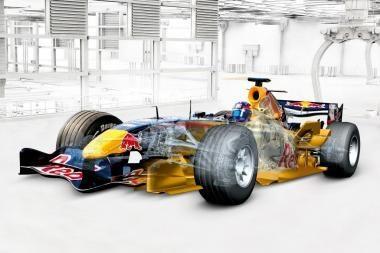 """Už čempiono """"Formulės-1"""" bolido gamybą atsakinga """"Siemens"""" programinė įranga"""