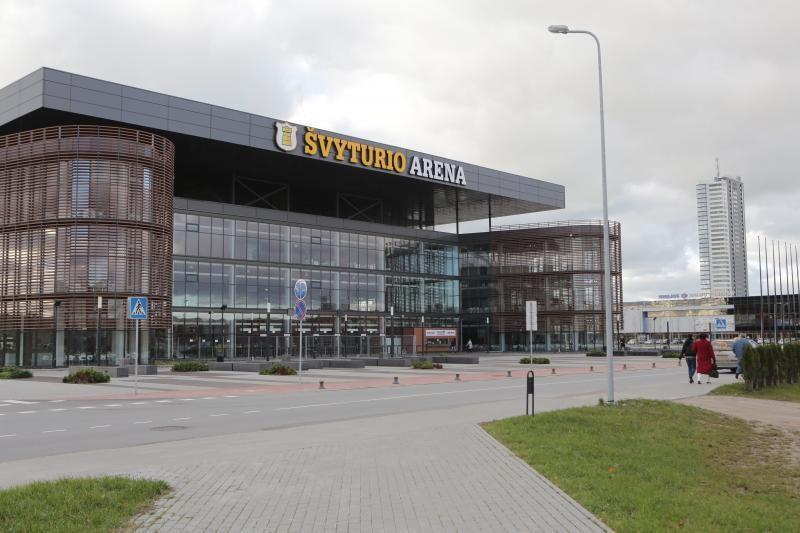 Klaipėdos arenoje vis dar neveikia kubas ir varteliai
