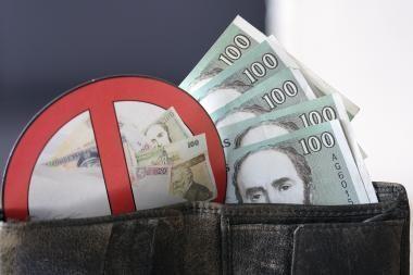 Kovą įmonių įsiskolinimai padidėjo 169 mln. litų