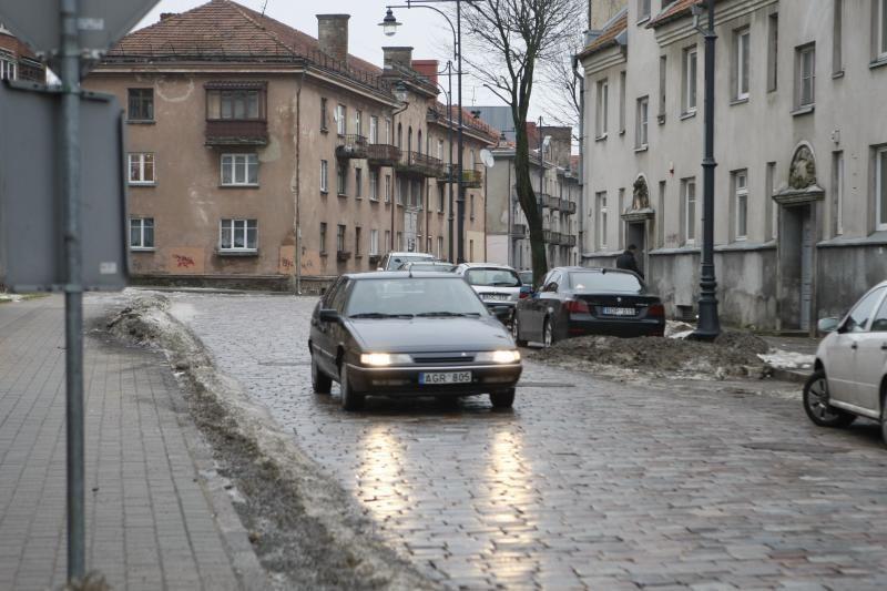J.Janonio gatve jau gali važiuoti automobiliai