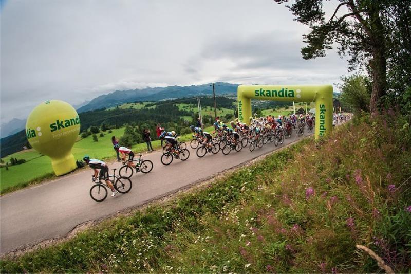 """""""Tour de Pologne"""" lenktynėse lietuviai liko toli nuo lyderių"""