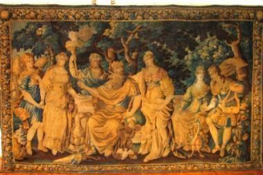 A. Bosas Valdovų rūmams dovanos XVII a. gobeleną