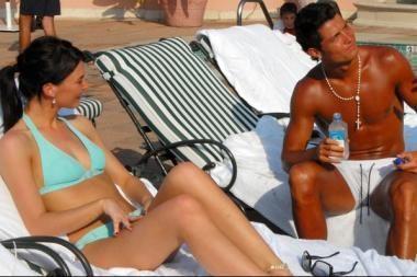 C.Ronaldo draugė trokšta sekso lėktuve