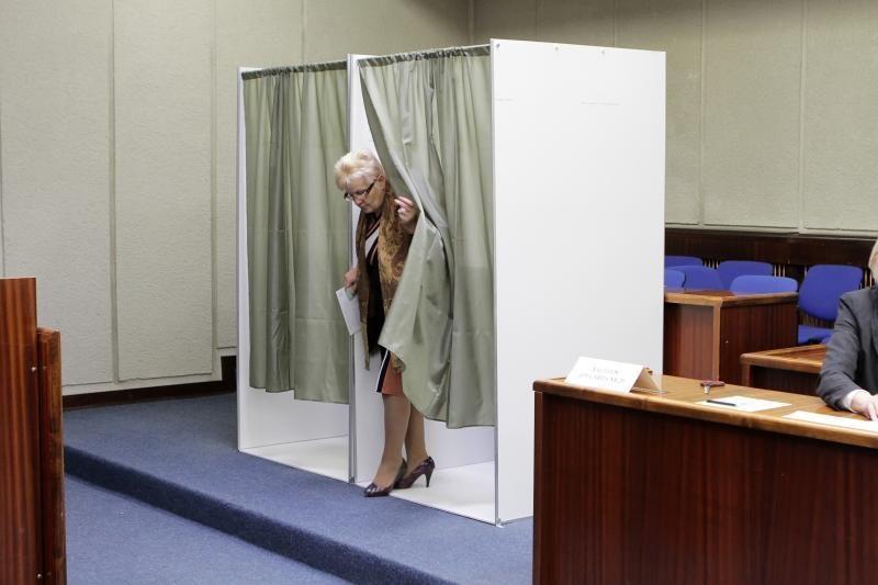 Klaipėdoje iš anksto balsavusių rinkėjų aktyvumas džiugino