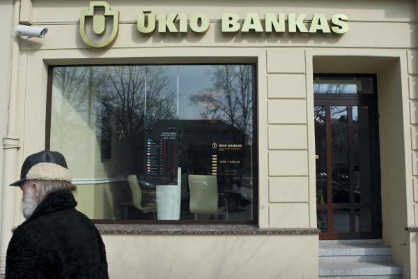 Ūkio banko lizingo finansuojama lizingo suma išaugo 30 proc.