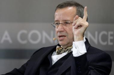 Estijos prezidentas: neturime pamiršti okupacinių valdžių nusikaltimų
