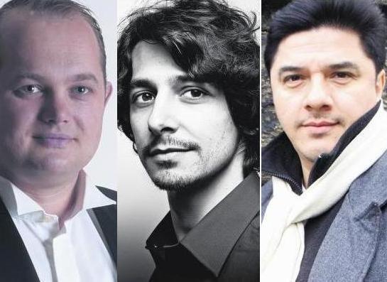 Naujametinį tarptautinį koncertą Klaipėdoje surengs trys tenorai