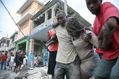 Haičiui smogęs žemės drebėjimas nusinešė daug gyvybių