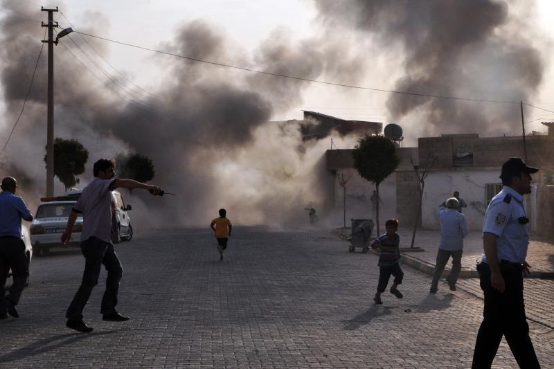 """Sirija pripažįsta Turkijos miesto apšaudymą """"tragišku atsitiktinumu"""""""