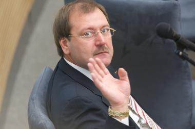 Europos Parlamentas antradienį balsuos dėl V.Uspaskicho neliečiamybės