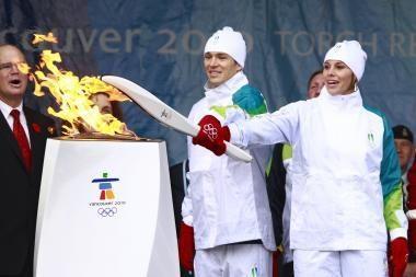 Vankuveris jau laukia olimpiečių