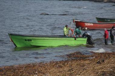 Uosto direkcija turės kompensuoti žvejams nuostolius