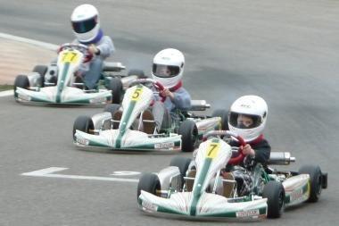"""Greičiausias """"Formulės Mini"""" treniruotėje – Gustas Grinbergas"""
