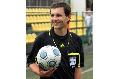 G.Mažeika teisėjaus Europos jaunimo futbolo čempionate