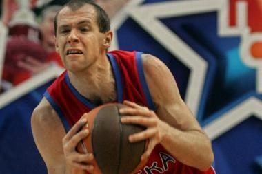R.Šiškauskas su CSKA – Rusijos krepšinio superlygos finale