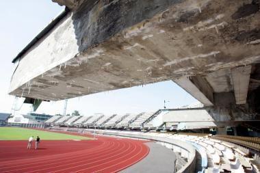 """Nori nugriauti """"Žalgirio"""" stadioną"""