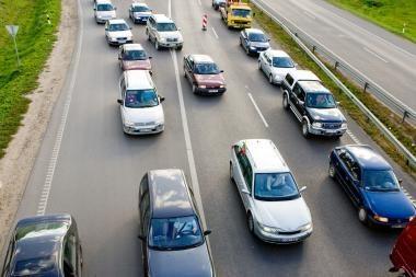 Greitkelis Vilnius-Kaunas: dalyje ruožų leistinas greitis gali padidėti