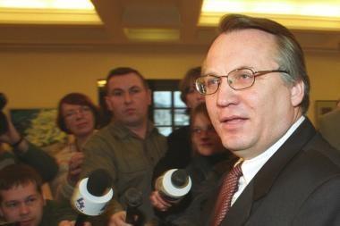 Buvęs VSD vadovas M.Laurinkus nori signataro rentos