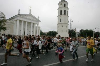 """""""Vilniaus maratono"""" metu žiūrovai bus mokomi sveikos gyvensenos"""
