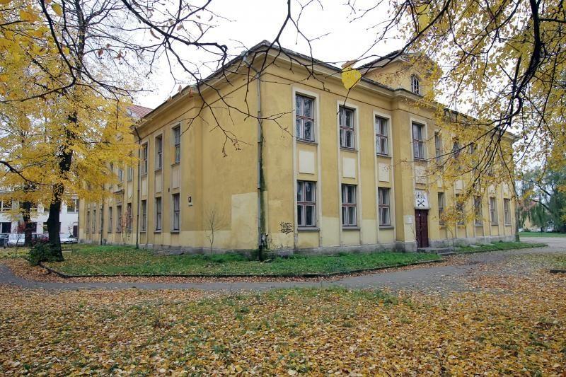 Vydūno mokyklos pastate įsikūrusių menininkų į gatvę nevarys