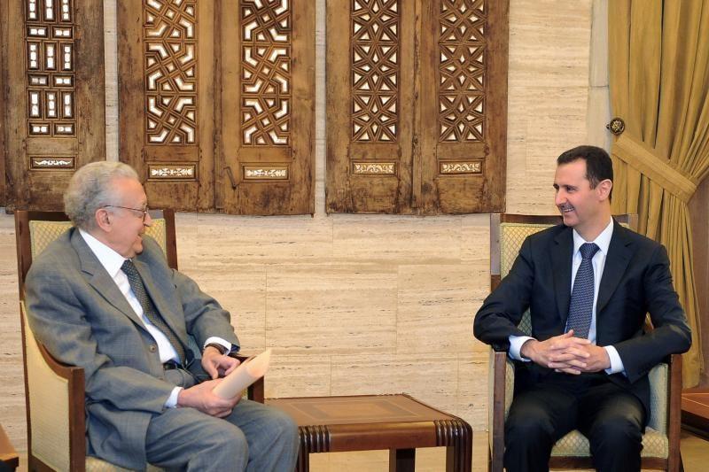 Sirijos prezidentas priėmė taikos pasiuntinį L. Brahimi