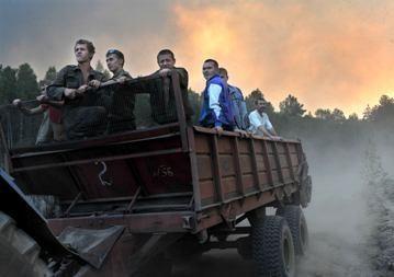 Rusai: ugnis gali pasiekti pagrindinį branduolinių tyrimų centrą