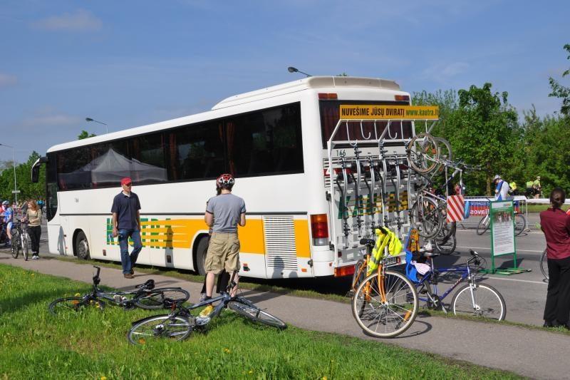 Prieš vasarą – daugiau dviratininkams pritaikytų autobusų