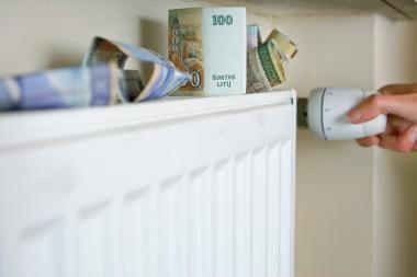 Vilniuje patvirtintos mažesnės lapkričio mėnesio šilumos ir karšto vandens kainos