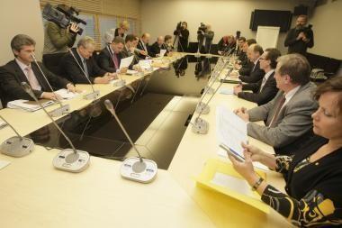 Dėl Vyriausybės programos tikisi susitarti sekmadienį