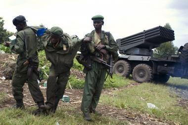 Konge sukilėliai užima miestus