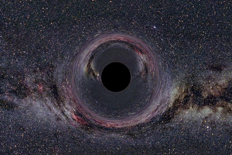 Juodosios skylės klajoklės – grėsmė Saulės sistemai?
