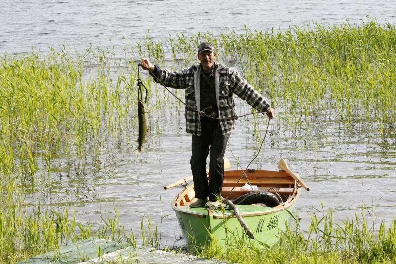 Klaipėdiečiai traukė prie ežerų