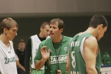 """G.Krapikas: """"Panathinaikos"""" stipriau žaidžia namie"""
