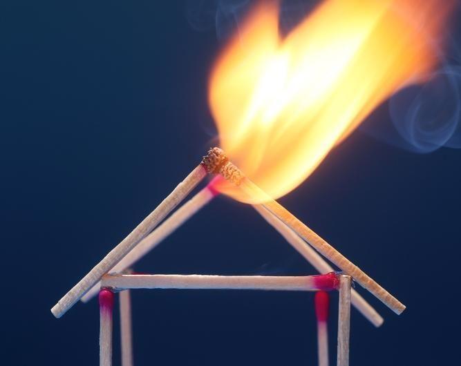 Kelmės rajone gaisras padarė nuostolių už 150 tūkst. litų