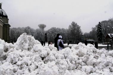 Savaitgalio orai: permainingi, bet nešalti