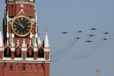 Prie Maskvos artėja audra