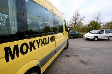 Kitąmet mokinius vežios 515 geltonųjų autobusų