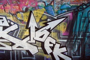 """""""Graffiti"""" piešėjai atsidūrė policijos komisariate"""
