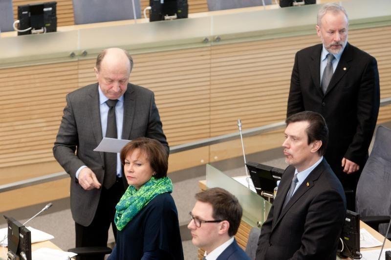 Paskelbta šešėlinė Lietuvos vyriausybė (ministrų sąrašas)
