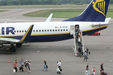 Kauno oro uostą paslaugų bendrovė išmainė į Vilniaus