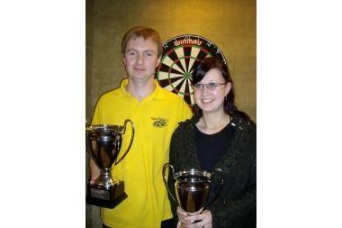 Klaipėdiečio triumfas Estijos smiginio čempionate