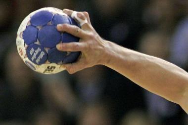 Lietuvos vyrų rankinio pirmenybių rungtynėse – lygiosios