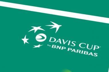 Paaiškėjo Deviso taurės teniso turnyro pasaulio grupės ketvirtfinalio poros